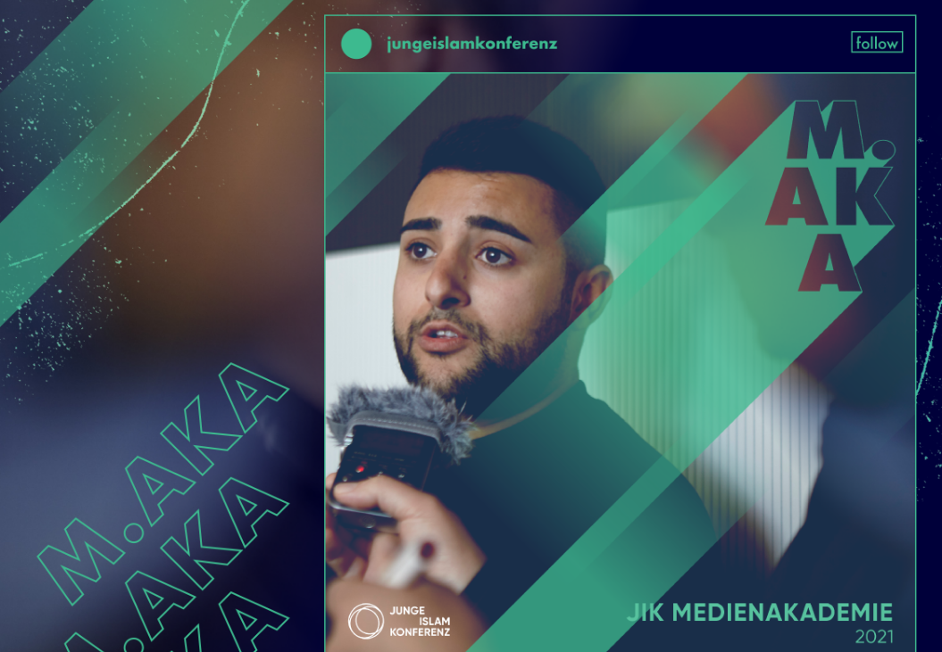 Keyvisual for the Young Islam Conference