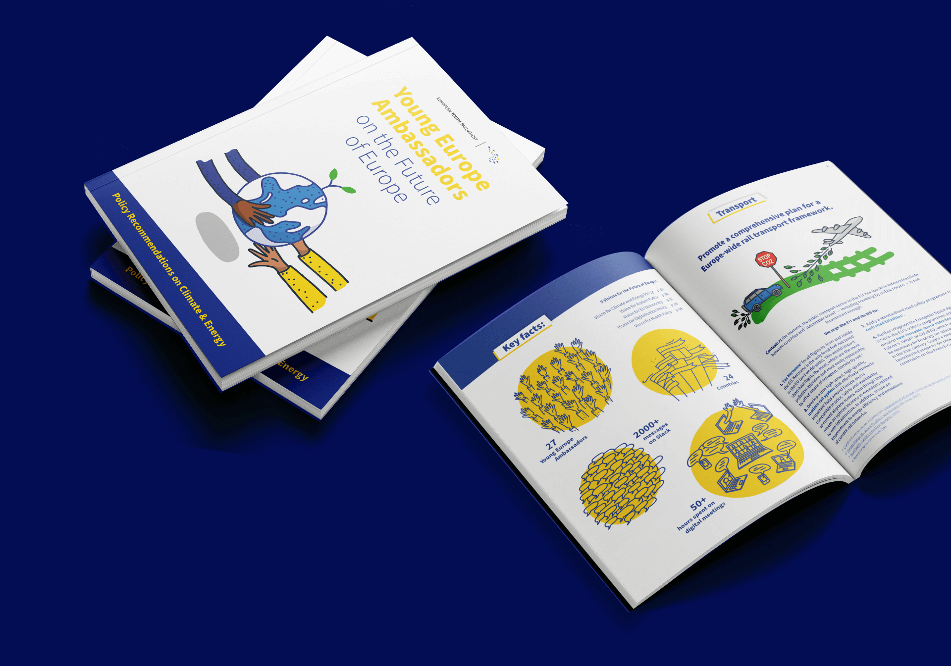 EYP Booklet with illustrations