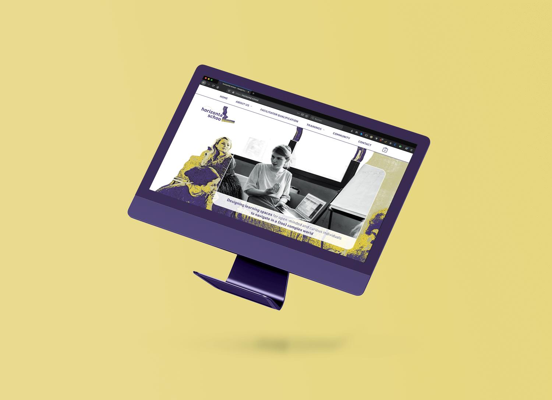 Horizontal School Webdesign