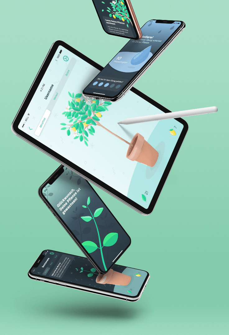 Mindance — App Illustrations