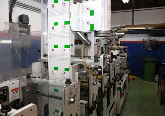 Fabricantes etiquetas especiales