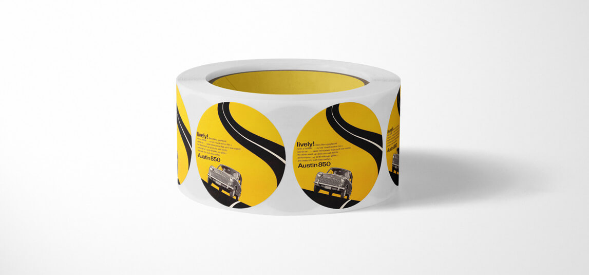 Etiquetas adhesivas para exterior e intemperie