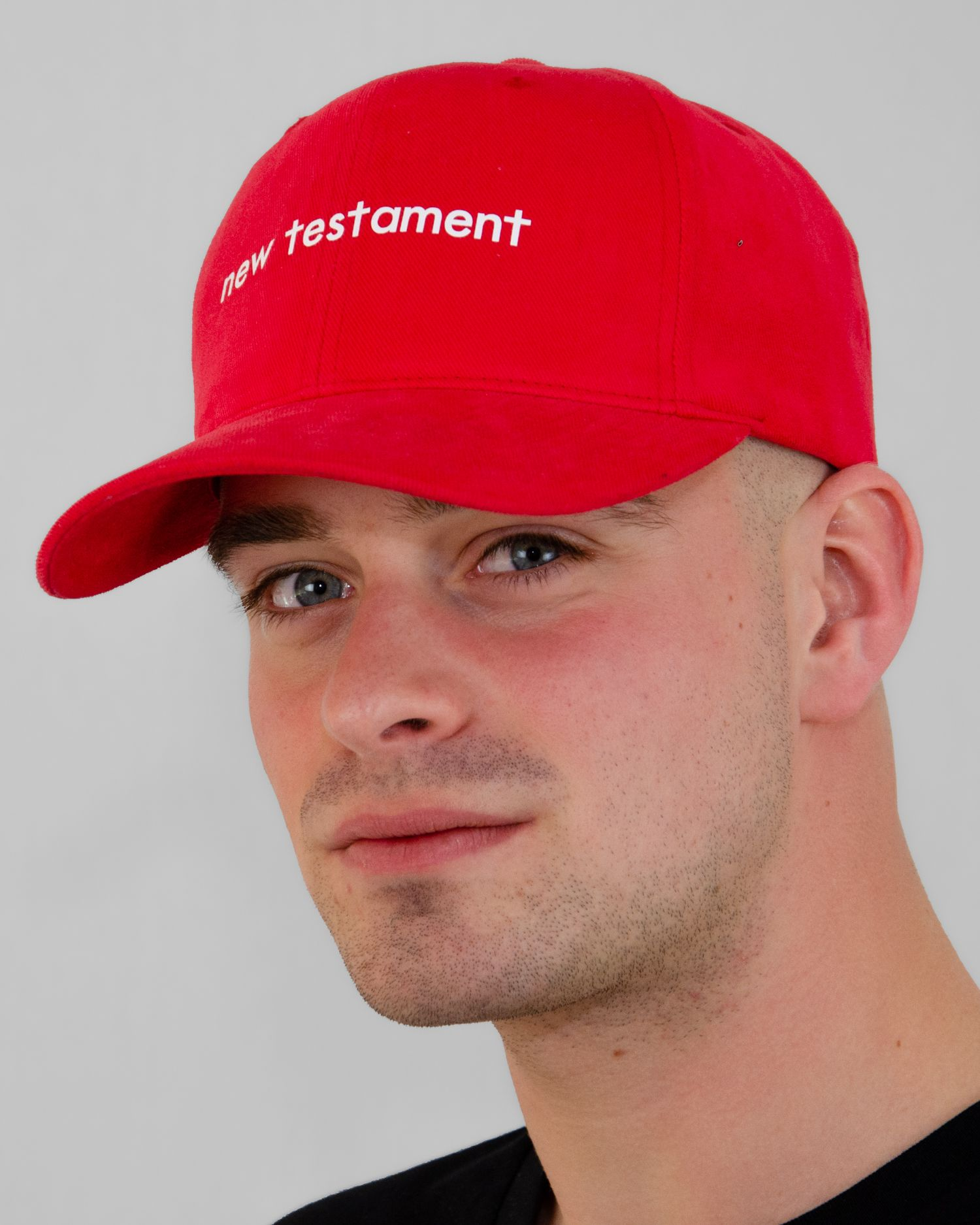 New Testament Yupoong Cap Red