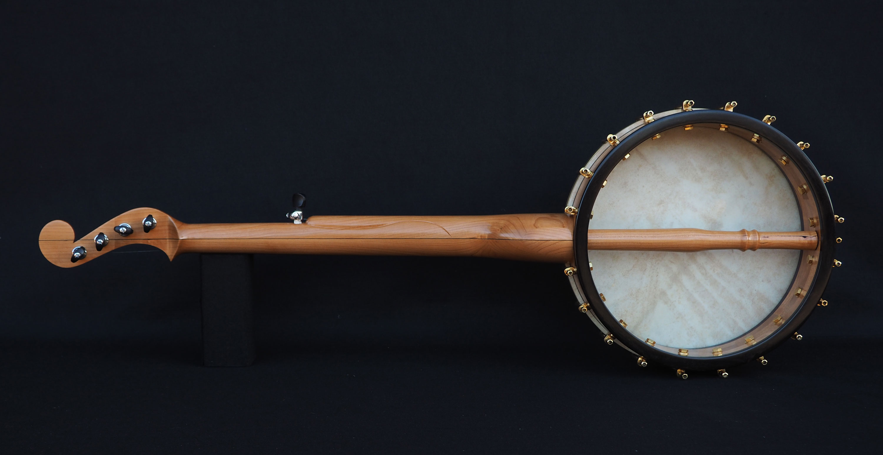 Cherry Banjo with Minstral Headstock