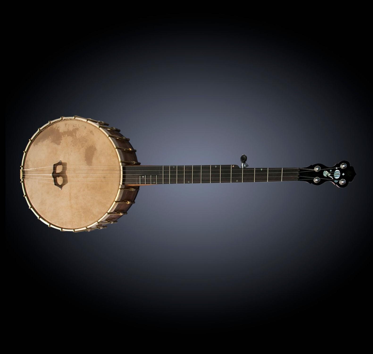 Balloon man Inlay banjo