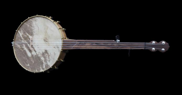 No 40 Pau Ferro Fretless Banjo