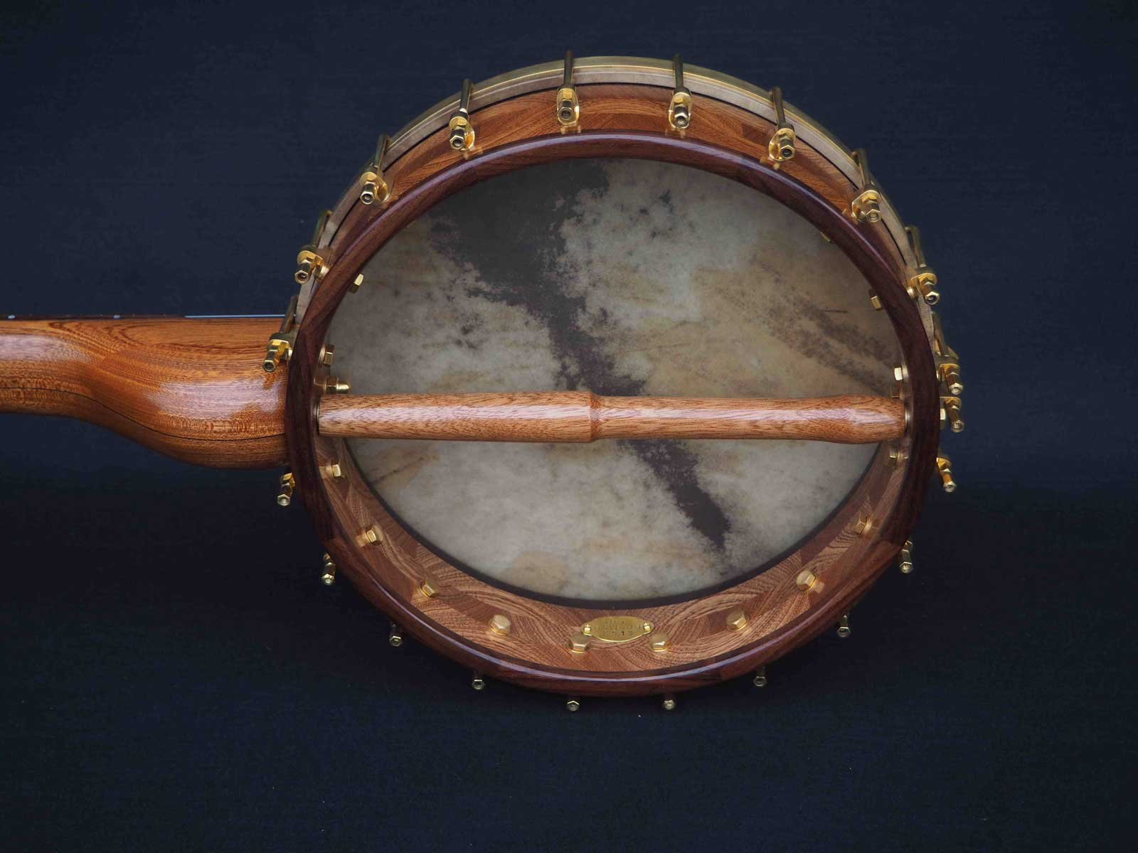 no 25 rosewood tone ring banjo back