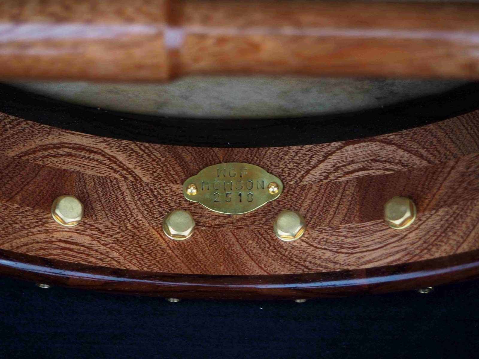 no 25 rosewood tone ring banjo handmade dowel