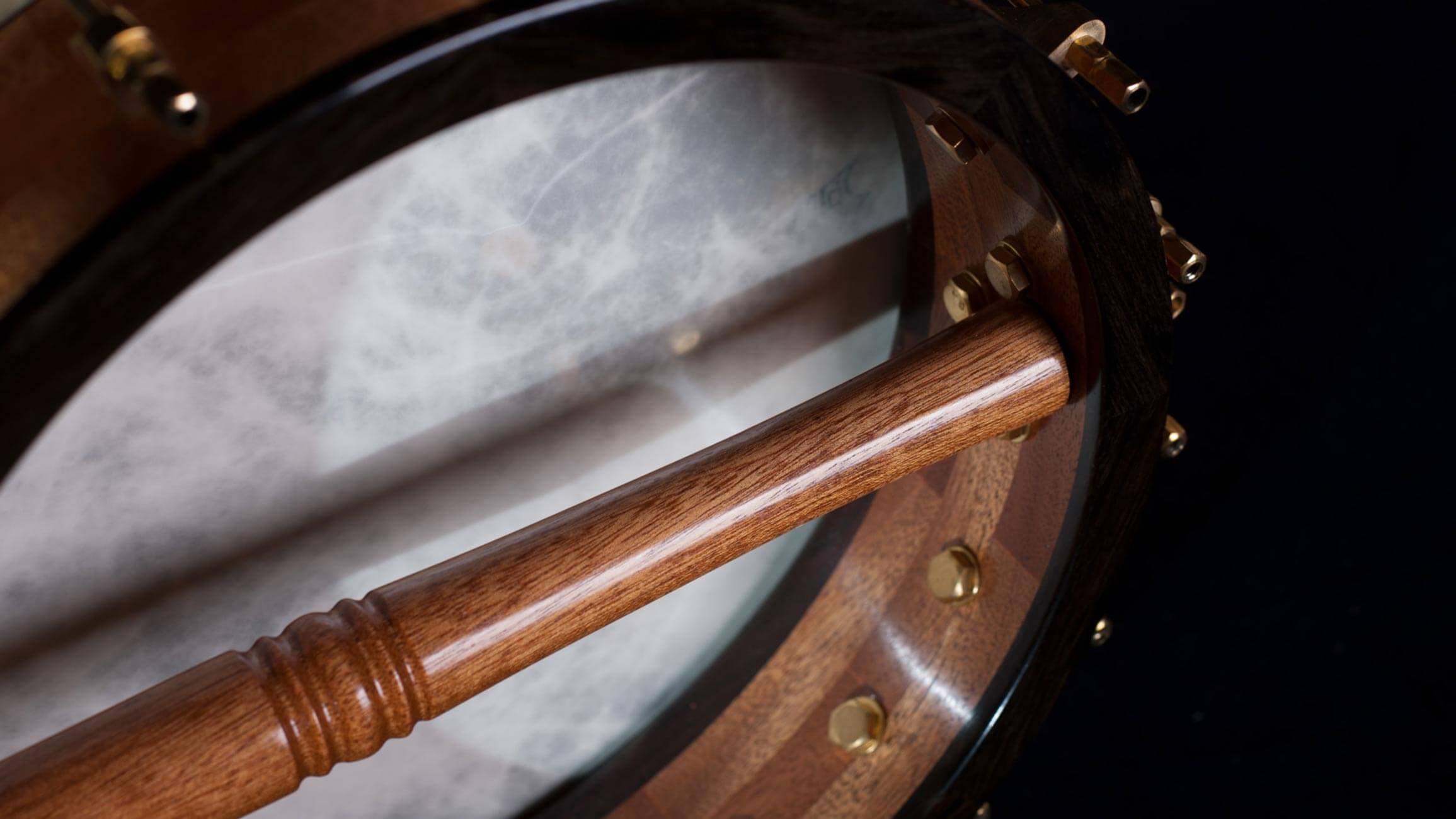 11-inch-rim-sapele-rosewood-banjo dowel