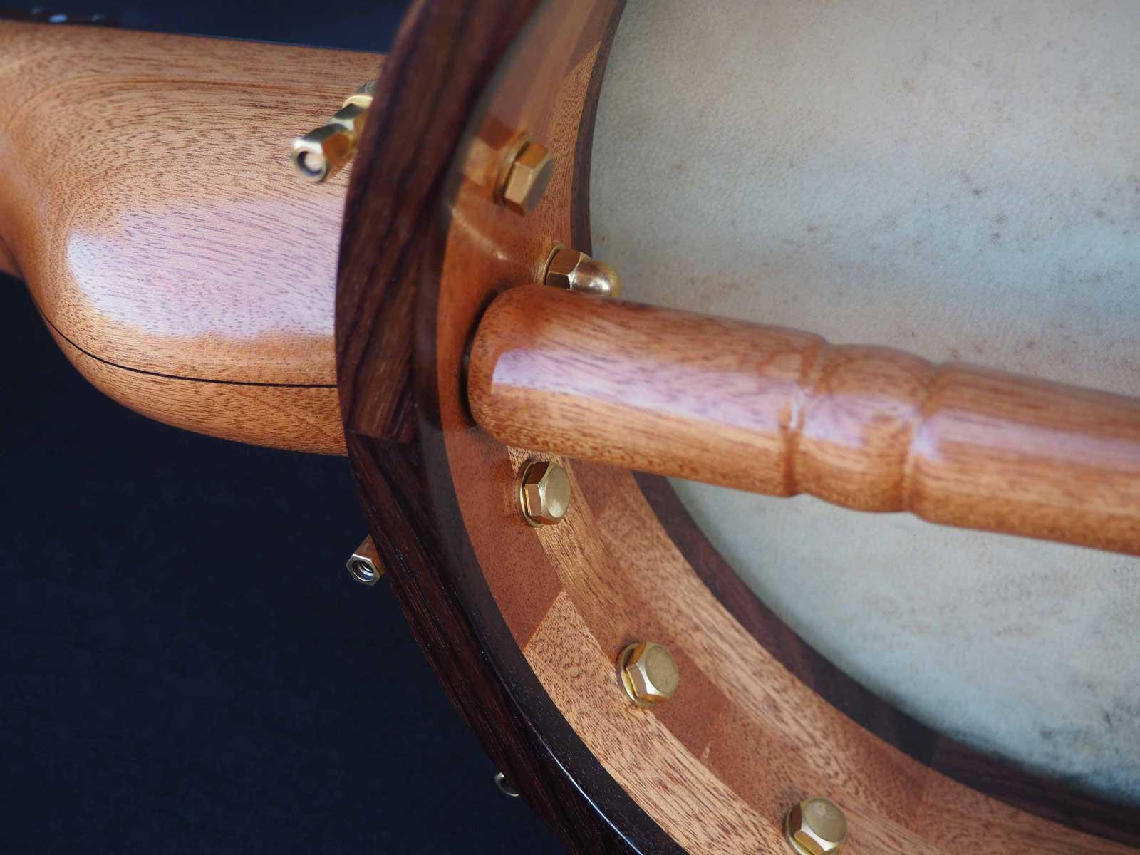 27 Sapele A scale Banjo dowel