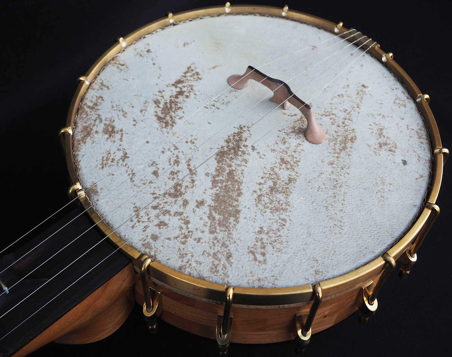 Cherry A scale Banjo 5 string