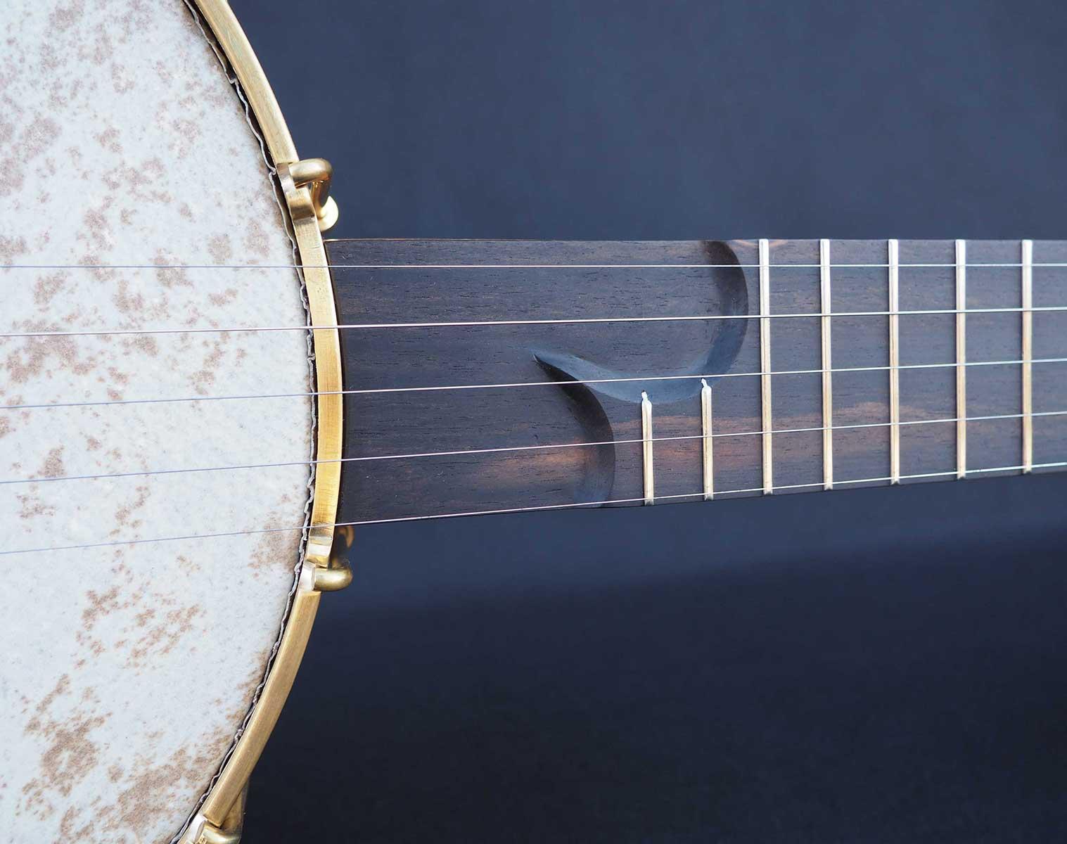 Cherry A scale Banjo