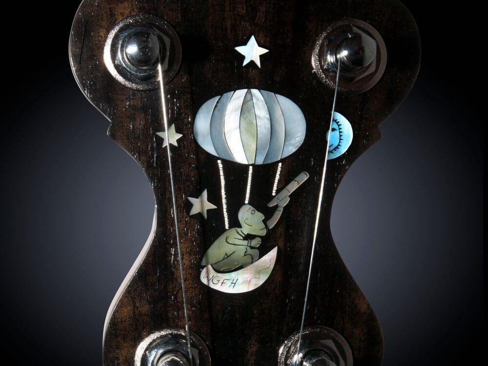 No 30 Balloon man Inlay banjo