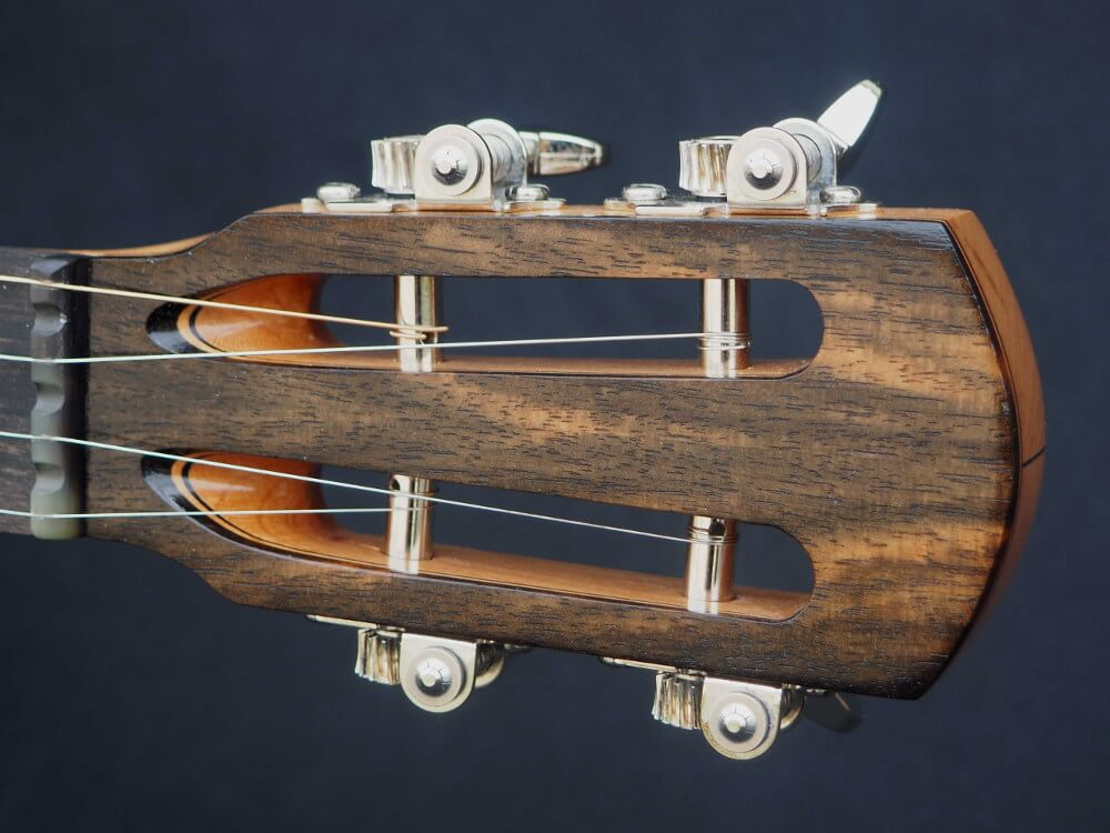No 33 Slotted Headstock with Ebony Tone Ring Banjo