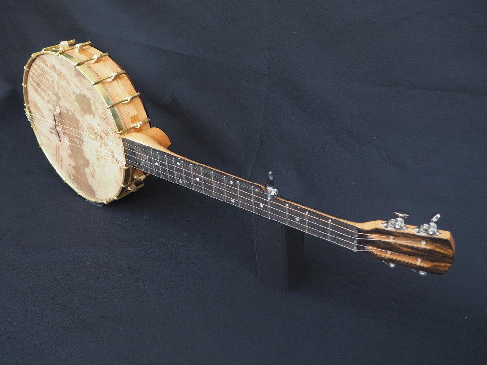 No 33 Slotted Headstock with Ebony Tone Ring Banjo