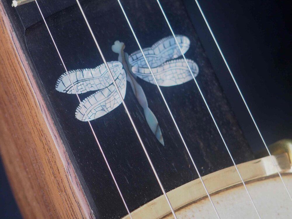 No 34 Dragonfly Inlay Banjo