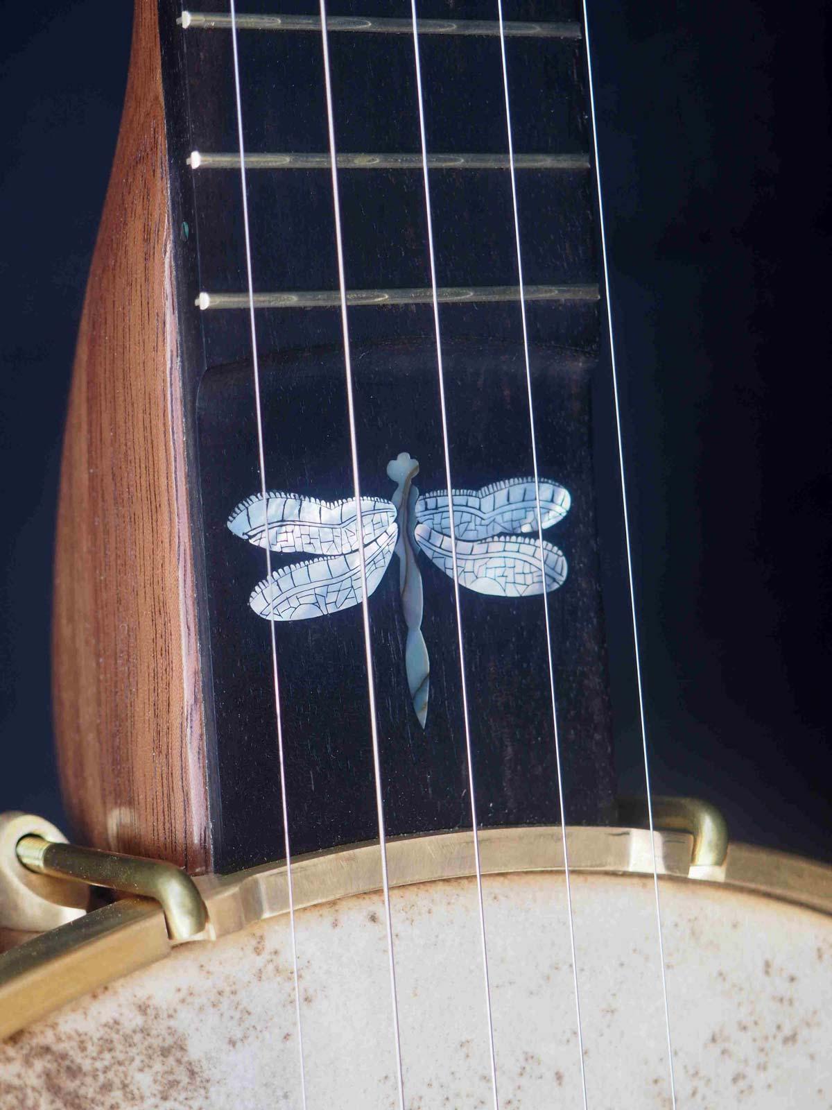 Dragonfly Inlay Banjo