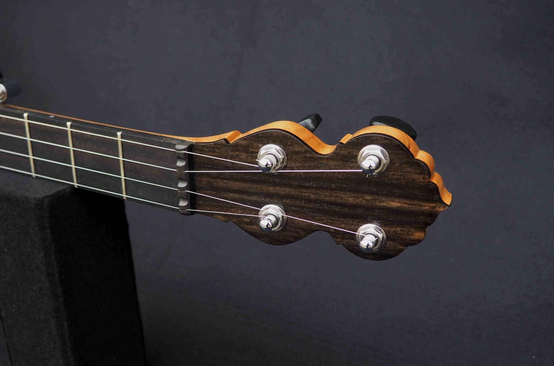 Eagle music 5 string Banjo headstock