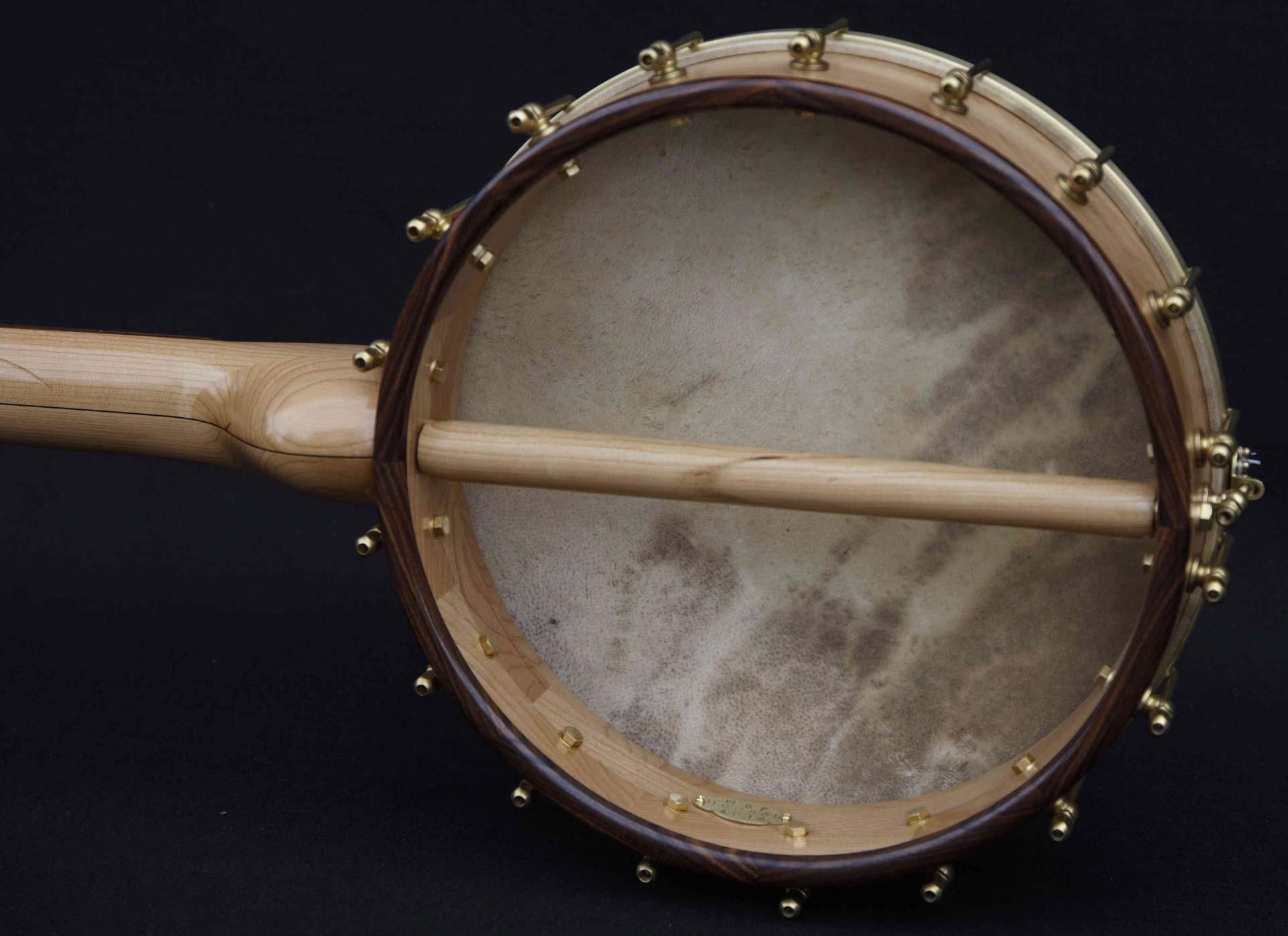 Pau Ferro Fretless Banjo dowel