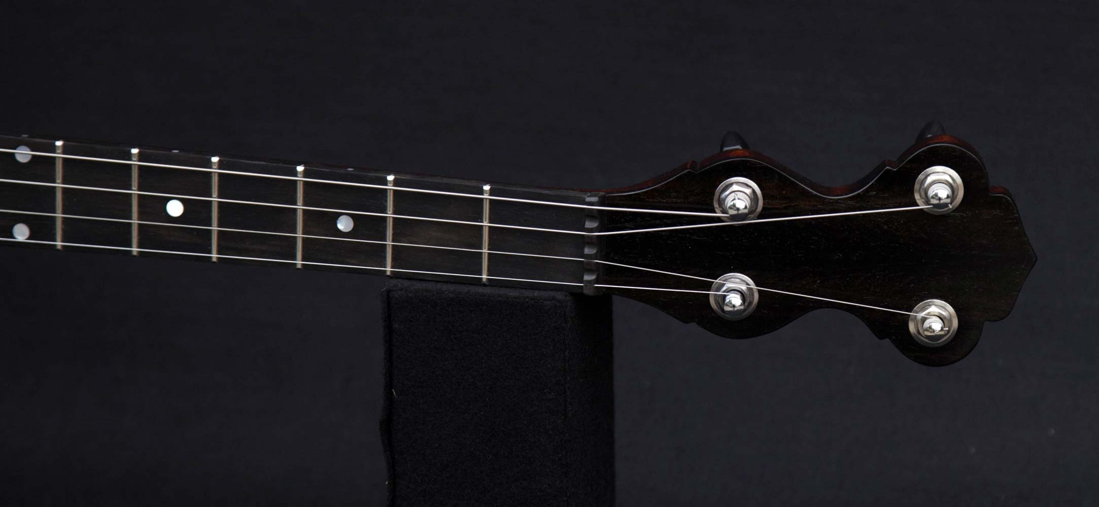 Deep Rim 19 Fret Tenor neck