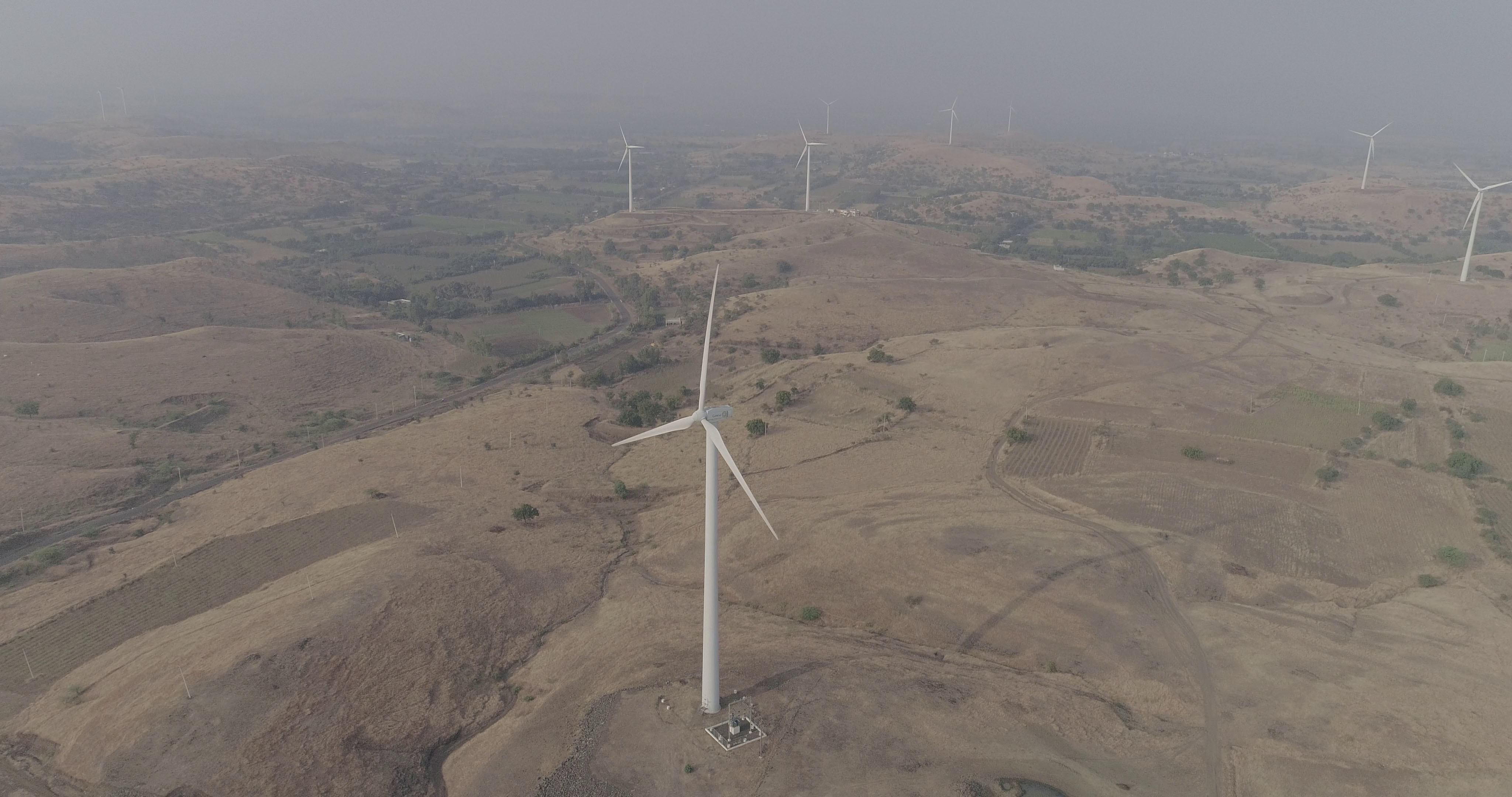 Generating clean wind energy, India
