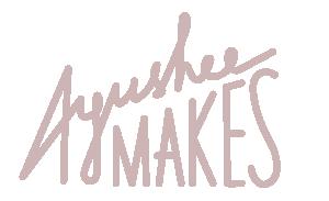 Ayushee Makes Logo