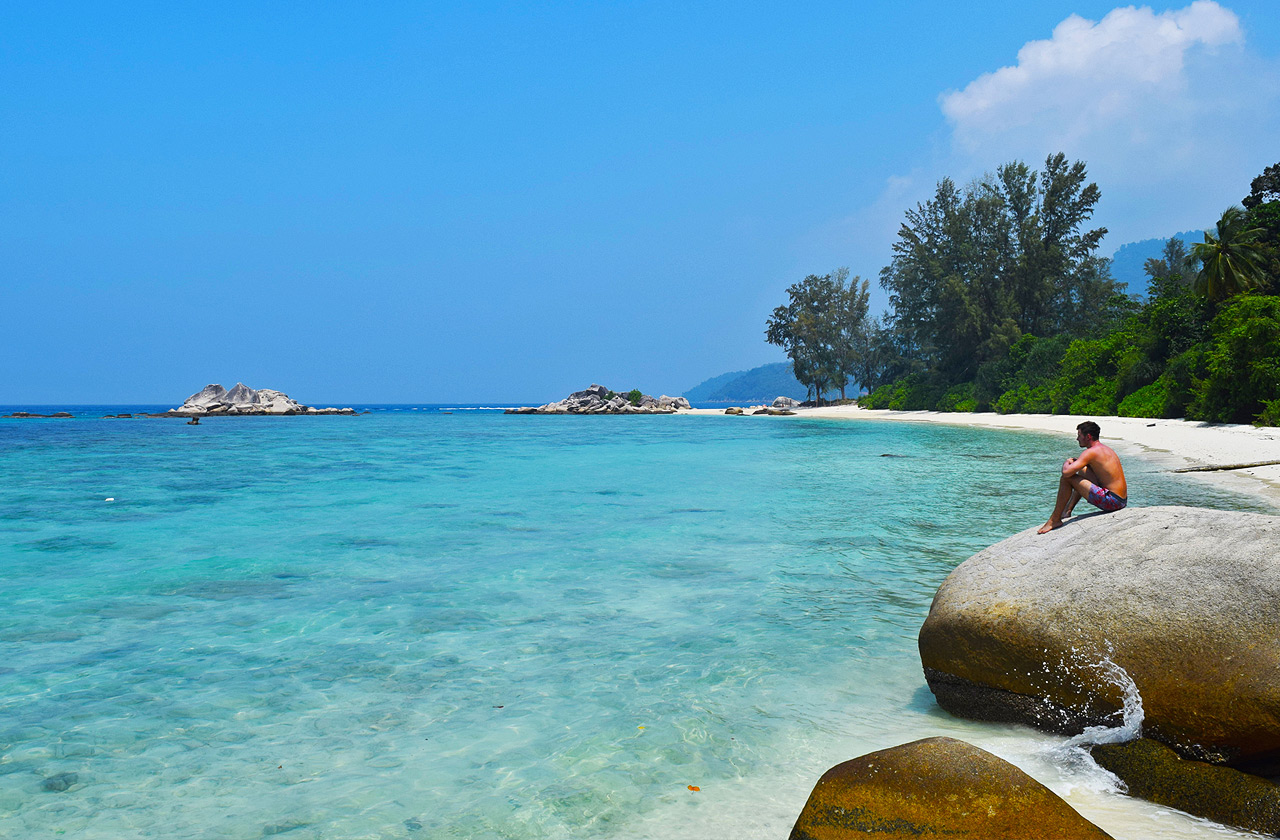 Perhentian Islands are one of the most popular seaside destinations in Malaysia