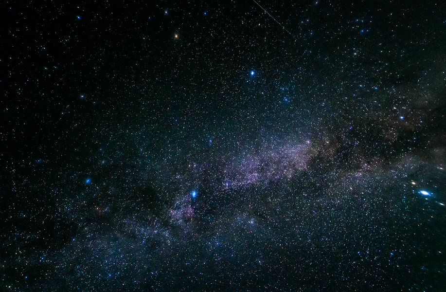 There are around 200 to 400 billion stars in the Milky Way alone