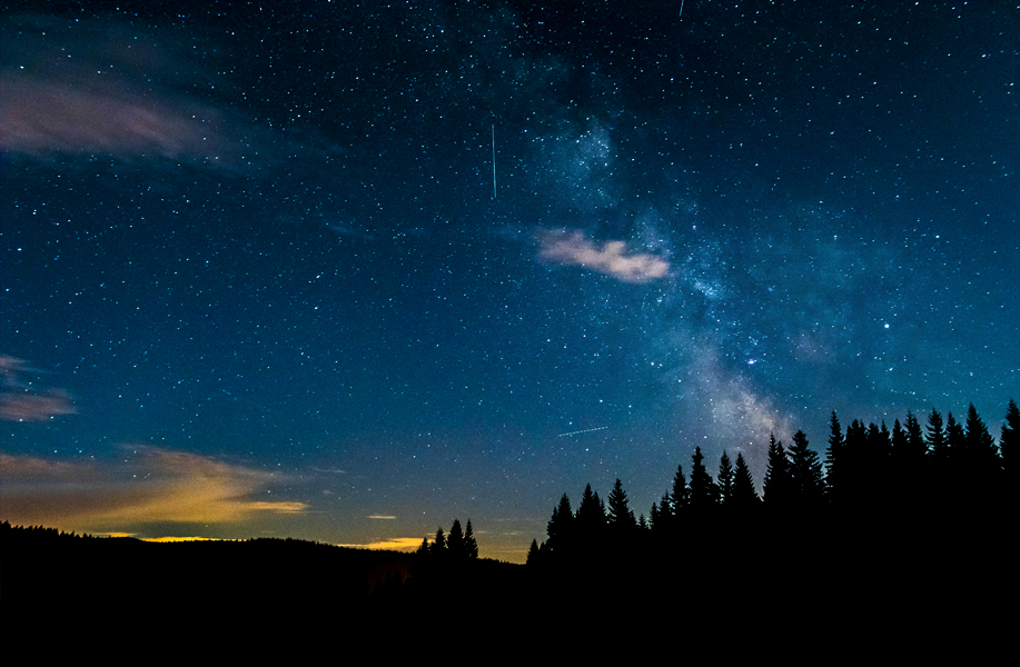 Perseid meteor shower peaks during July & August