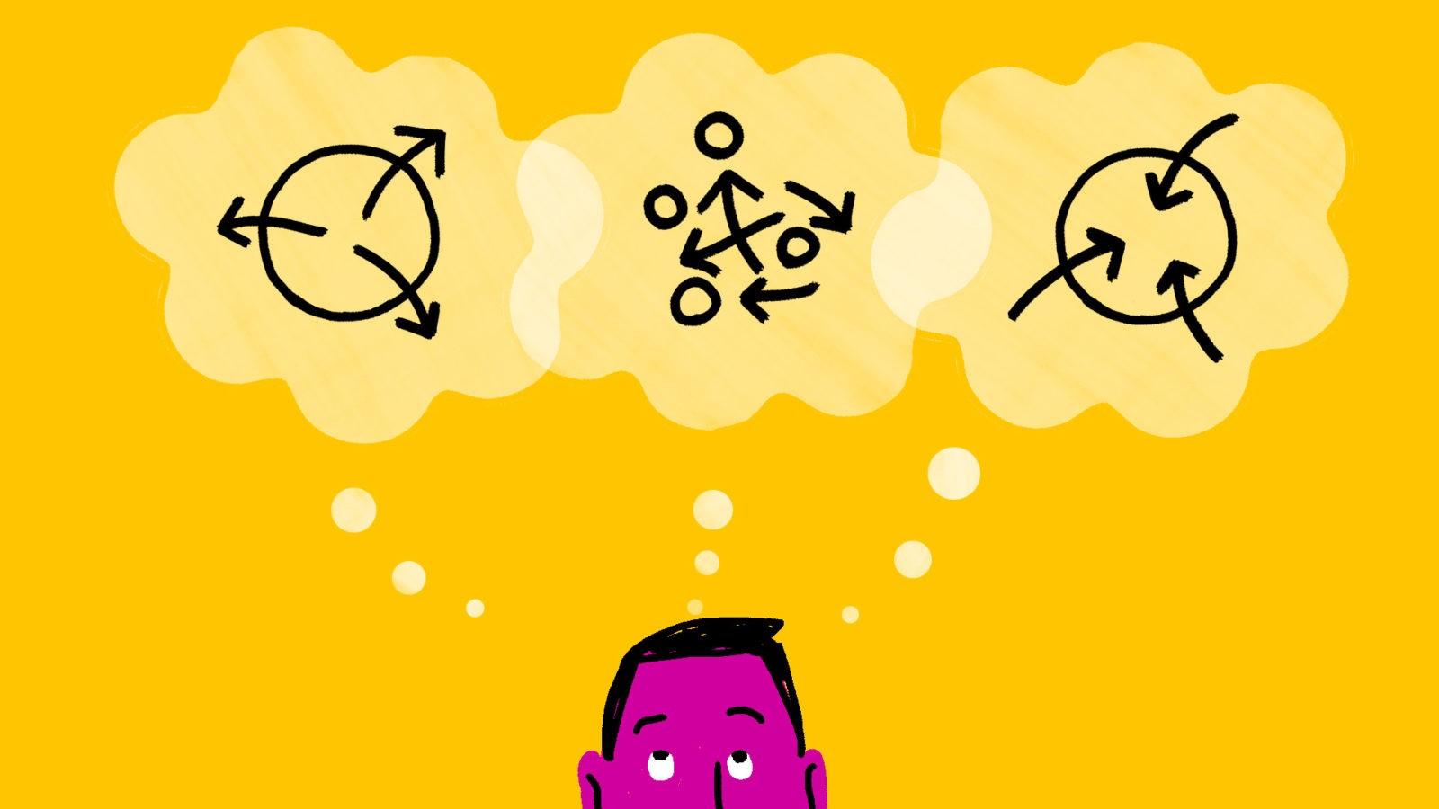 Design Thinking's Three Modes of Thinking: Open, Explore, Close