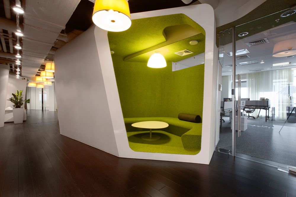 Casual Meeting Room Design