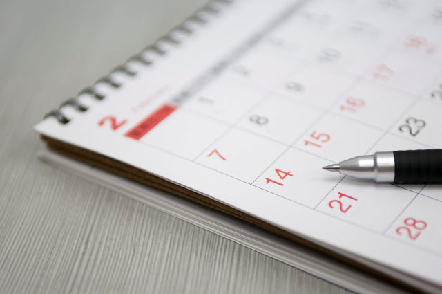 job hunting guide - schedulling