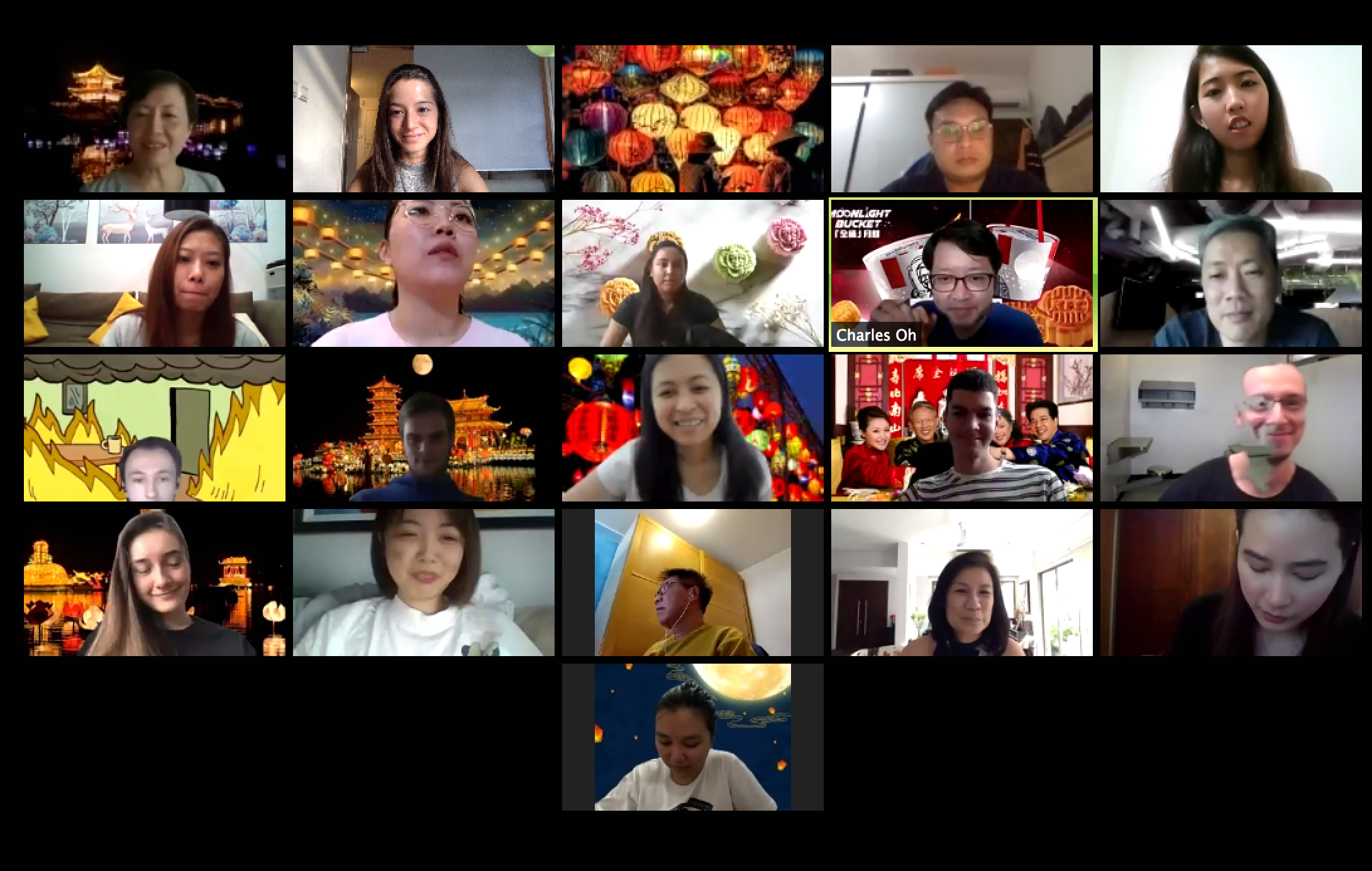 Remote Team Zoom Meeting