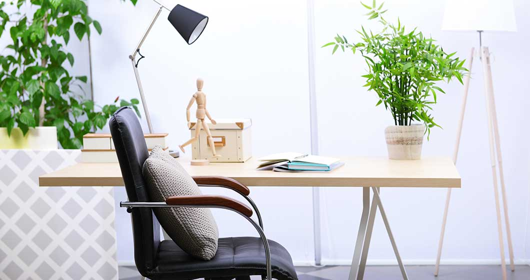 Plant home office