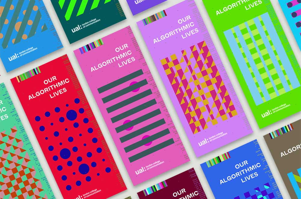 Multiple covers of the 'our algorithmic lives' publication