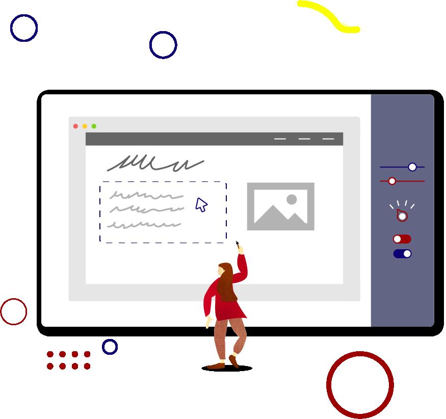 Visual editor feature