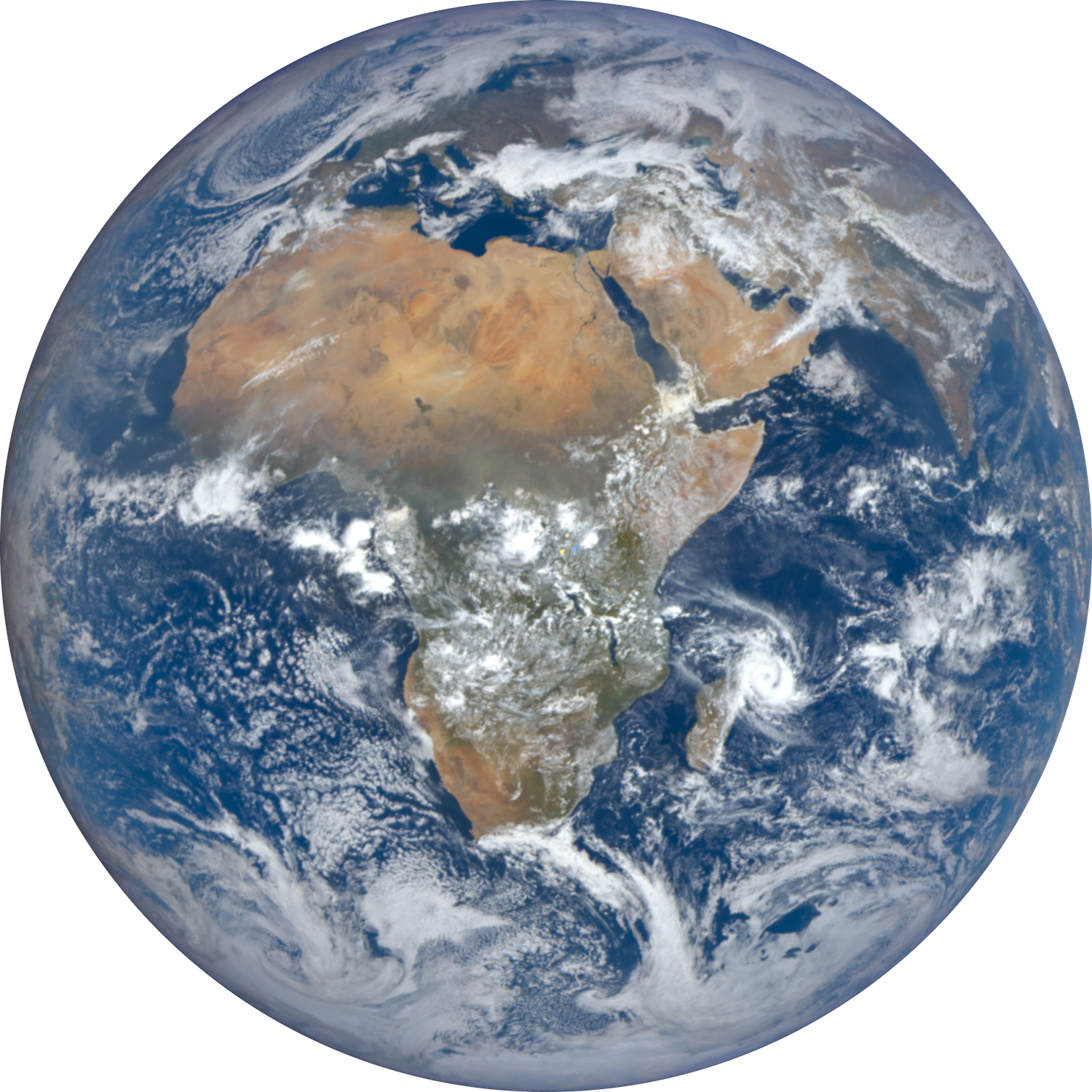 Earth viewed by DSCVR - NASA - OneHome