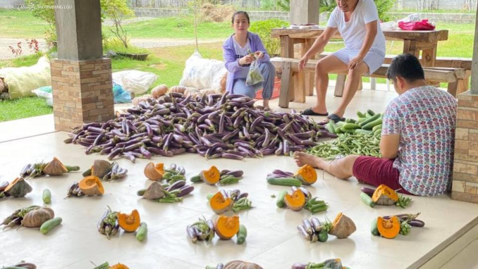 Gulay para sa Maguindanao Relief Goods