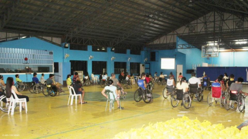 Pag-prioritize sa mga PWDs sa Relief Goods Distribution