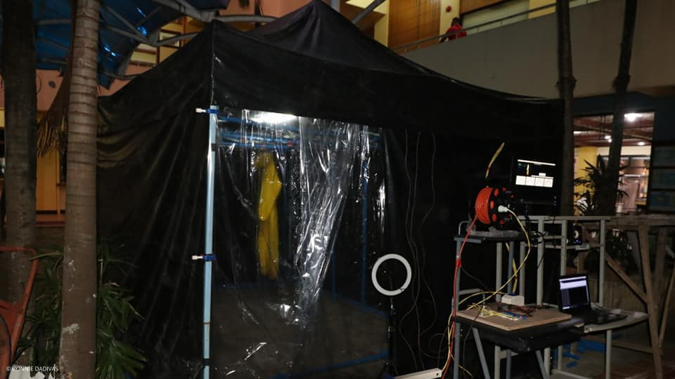 UV-C Disinfecting Tent and Portable UV-C Disinfecting Pod