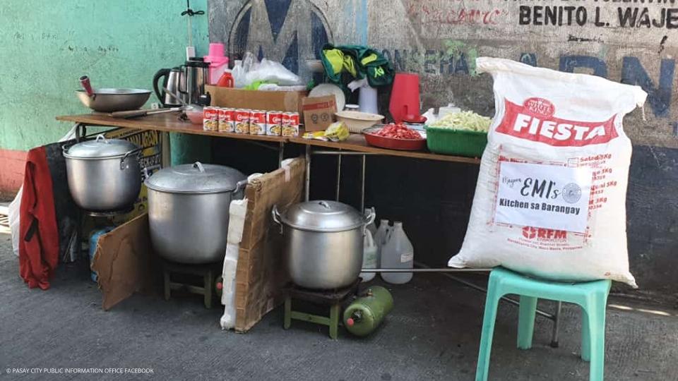 Kitchen sa Barangay