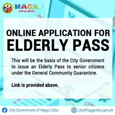 Online Application for Elderly Pass