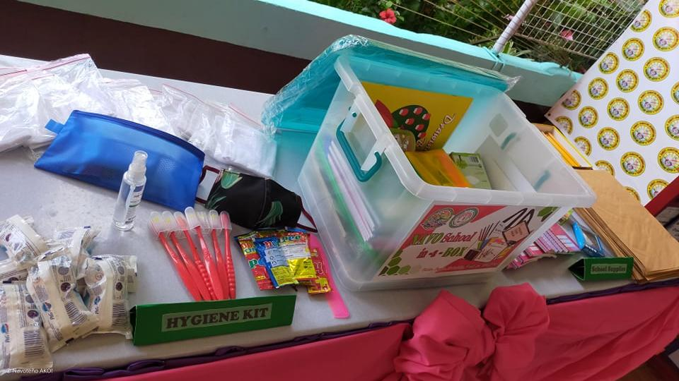 The NAVO School-in-a-Box