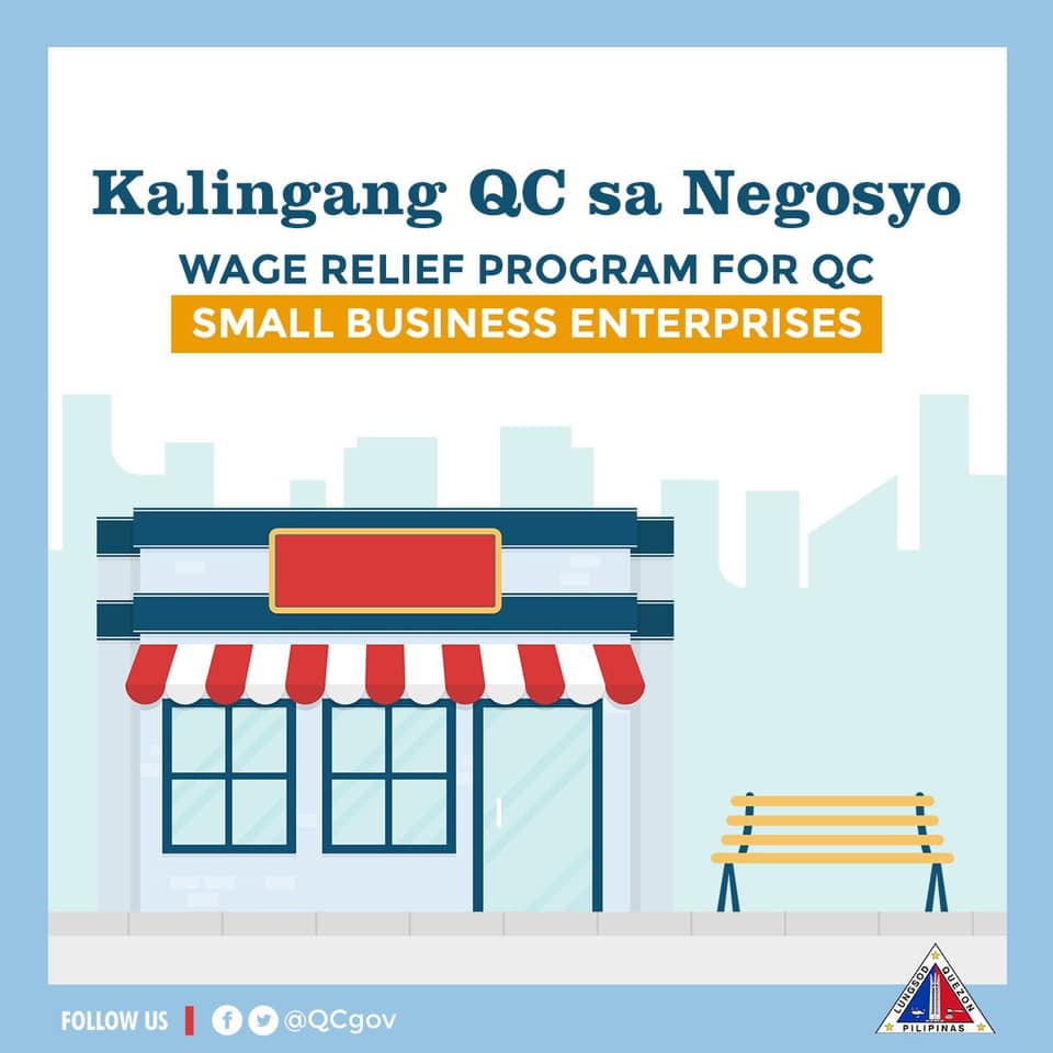 The QC Wage Relief Program for QC Small Enterprises
