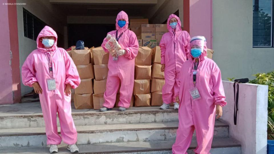 Made-in-Malabon personal protective suits bring safety and hope