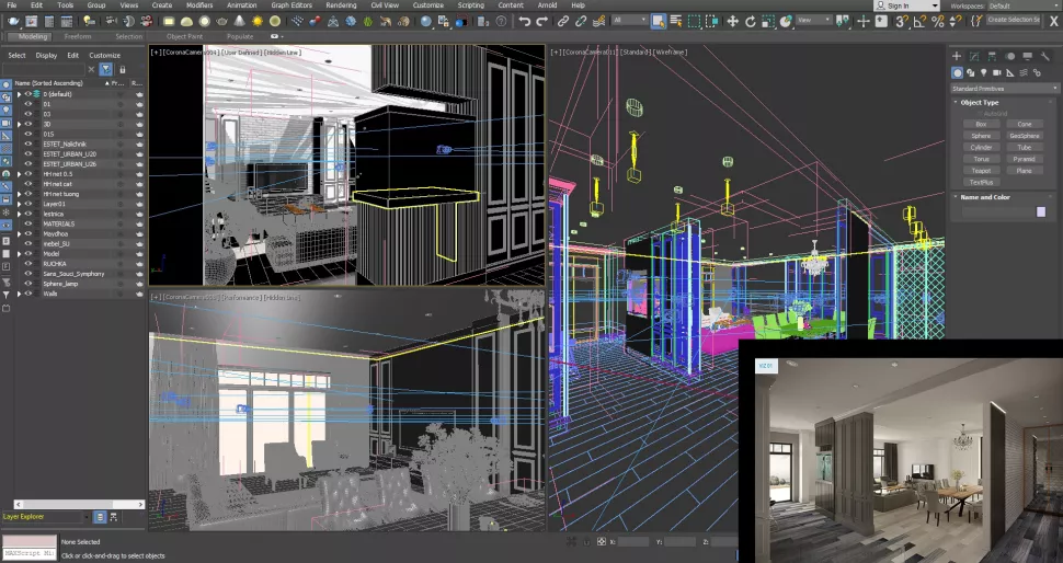 SaintFG - 3DS Max CAD Construction Software