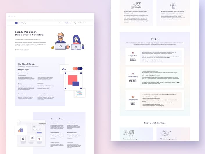 Alioned Agency Website Design & Webflow Development