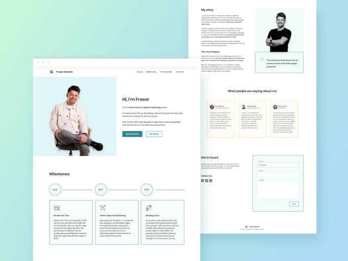 Fraser Website Design & Webflow Development