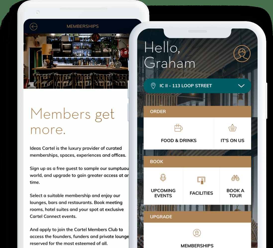 Ideas Cartel Mobile App