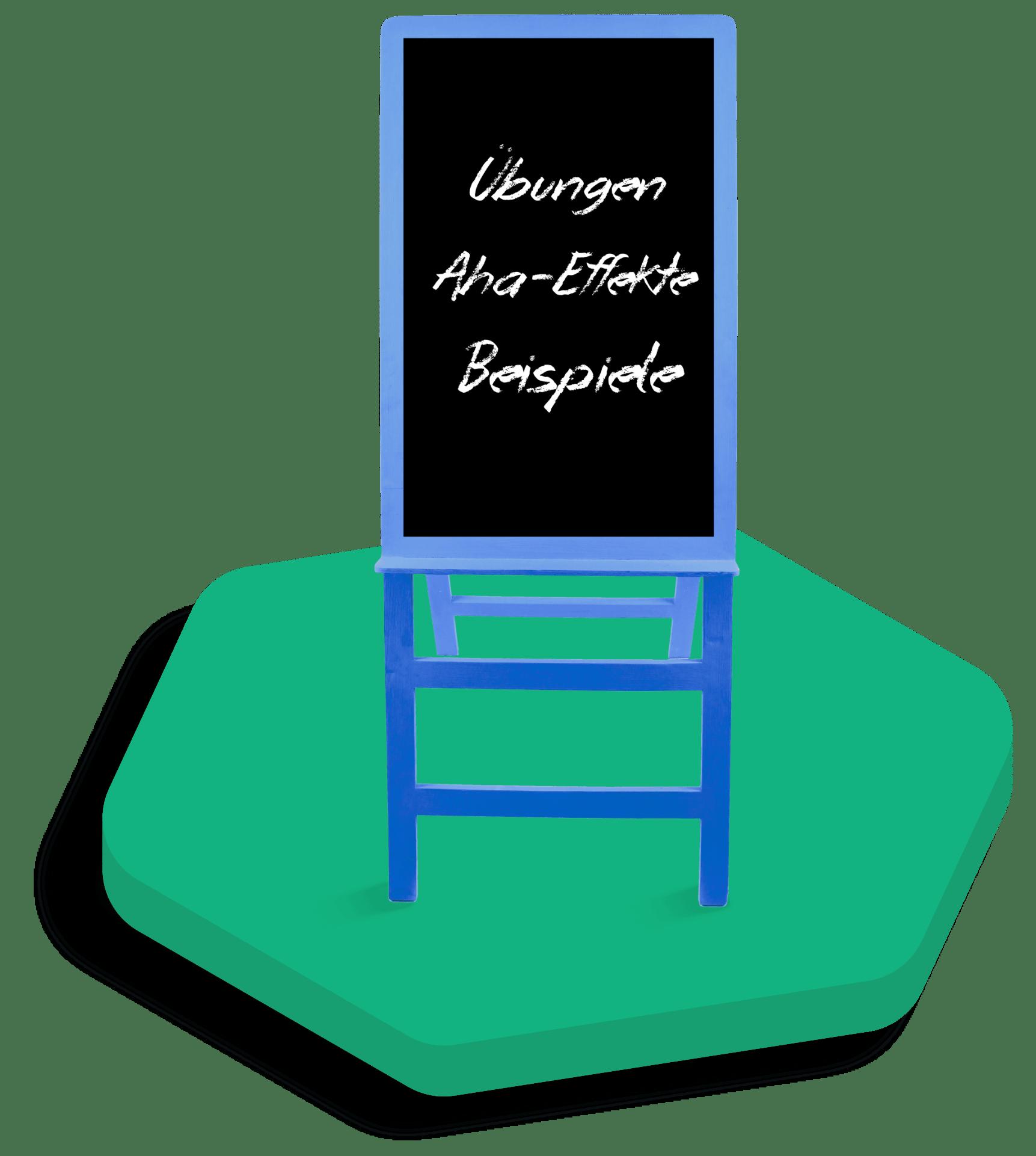Tafel mit Highlights
